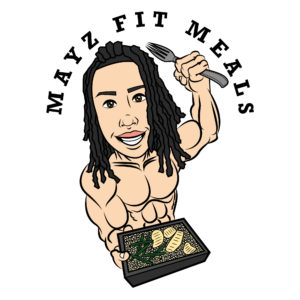 Beazie The Artist Mayz Fit Meals Logo