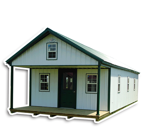 Deluxe Cabins - Metal Storage Buildings