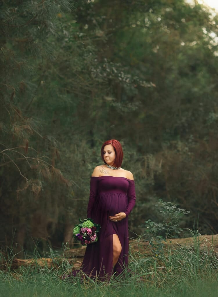 maternity session at Foutainebleau State Park