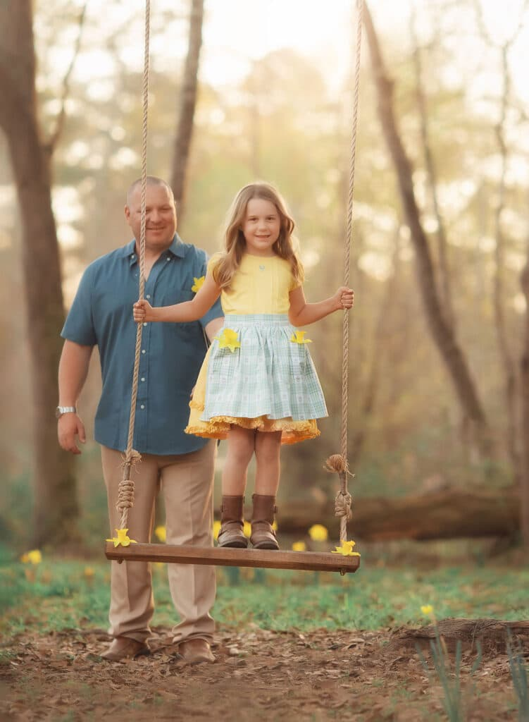 fine art photo of father and daughter