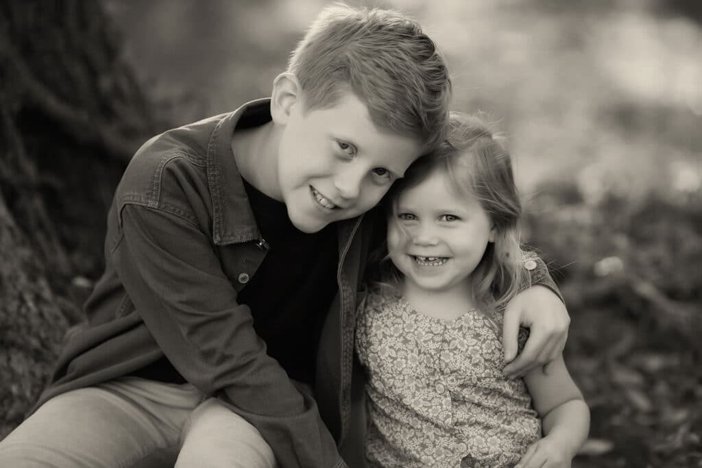 loving brother and sister