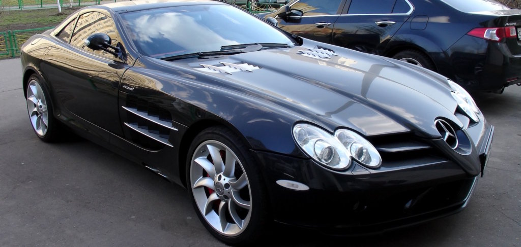paint protection near me with mercedes benz SLR