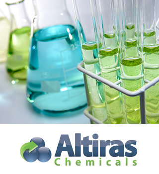 Altiras Chemicals is a chemical reuse and distribution company.