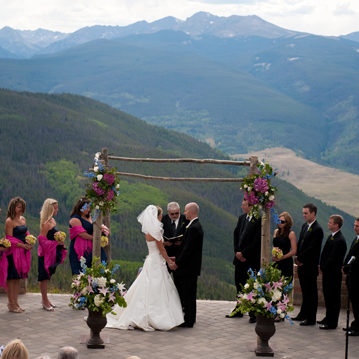 Top of Vail Mountain, Wedding Deck