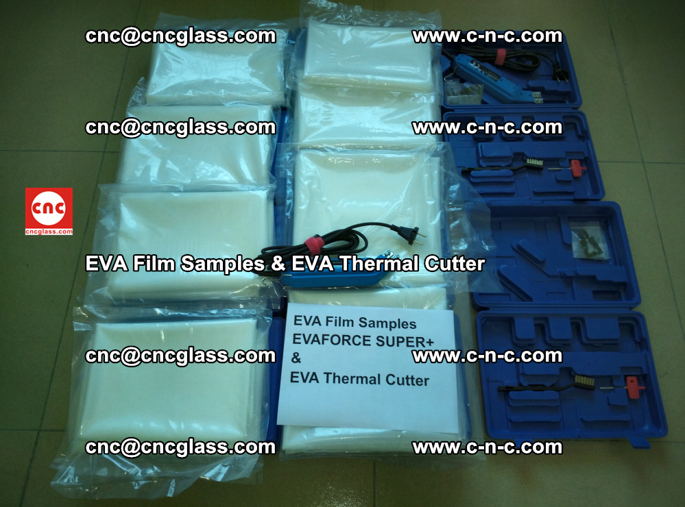 EVA Thermal Cutter and EVAFORCE SUPER PLUS EVA FILM samples (1)