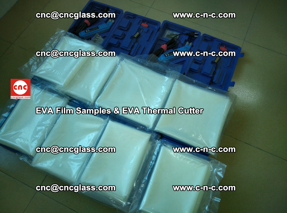 EVA Thermal Cutter and EVAFORCE SUPER PLUS EVA FILM samples (10)