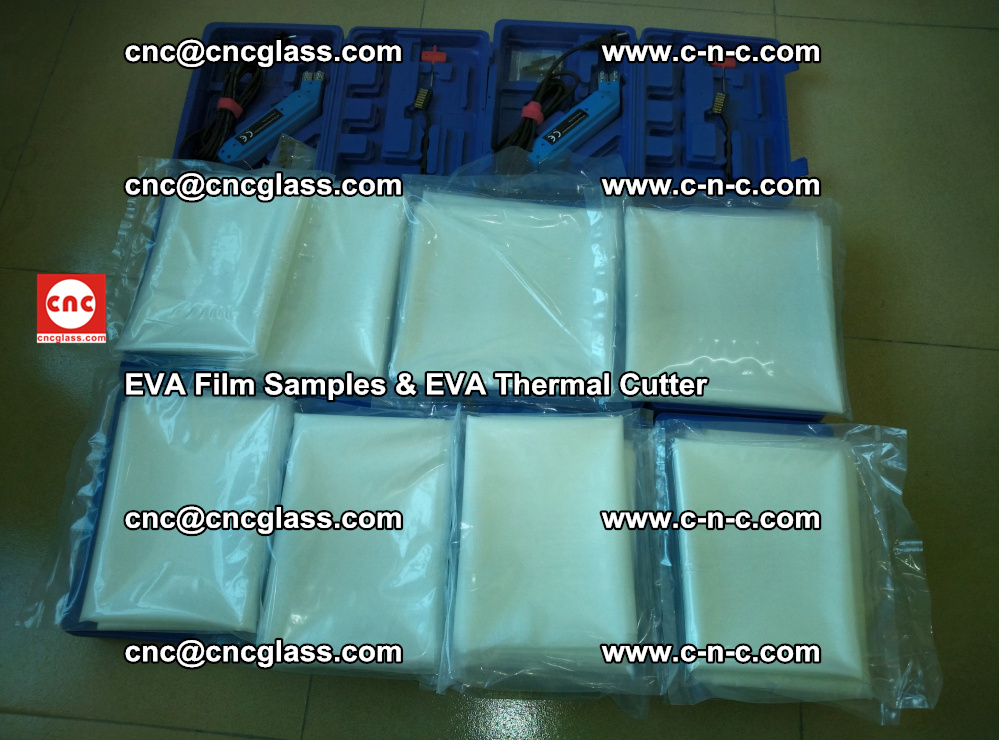 EVA Thermal Cutter and EVAFORCE SUPER PLUS EVA FILM samples (12)