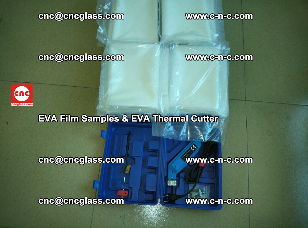 EVA Thermal Cutter and EVAFORCE SUPER PLUS EVA FILM samples (2)