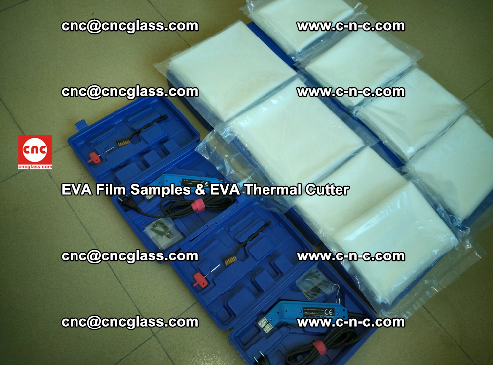 EVA Thermal Cutter and EVAFORCE SUPER PLUS EVA FILM samples (24)