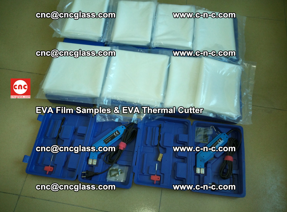 EVA Thermal Cutter and EVAFORCE SUPER PLUS EVA FILM samples (25)