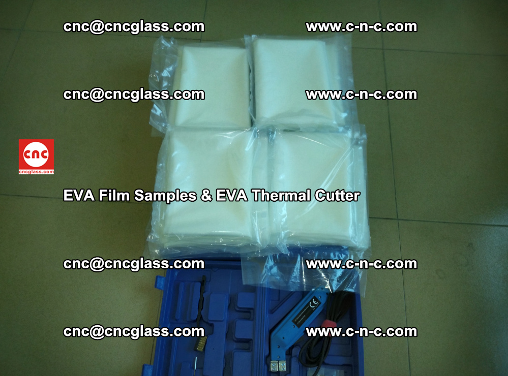 EVA Thermal Cutter and EVAFORCE SUPER PLUS EVA FILM samples (3)