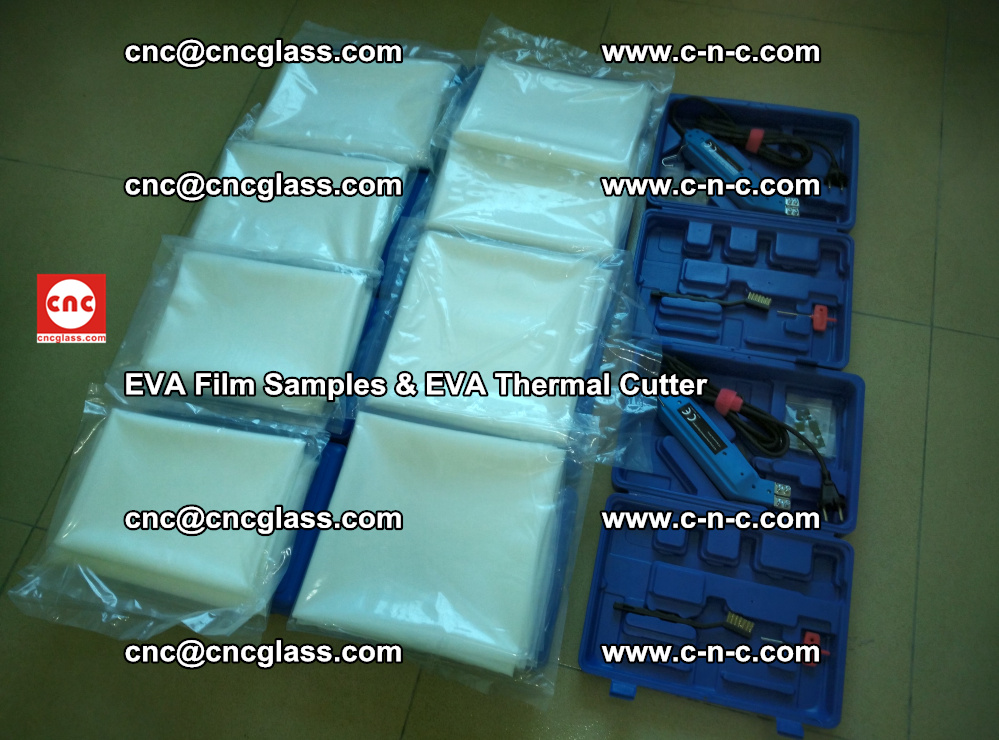 EVA Thermal Cutter and EVAFORCE SUPER PLUS EVA FILM samples (4)