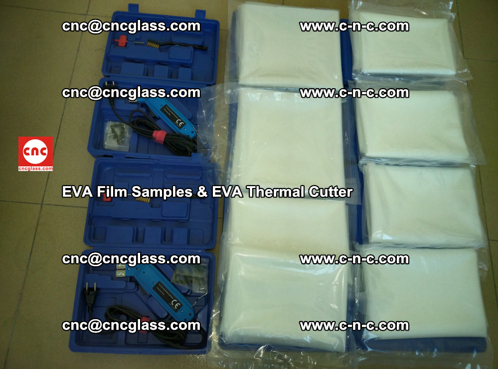 EVA Thermal Cutter and EVAFORCE SUPER PLUS EVA FILM samples (40)