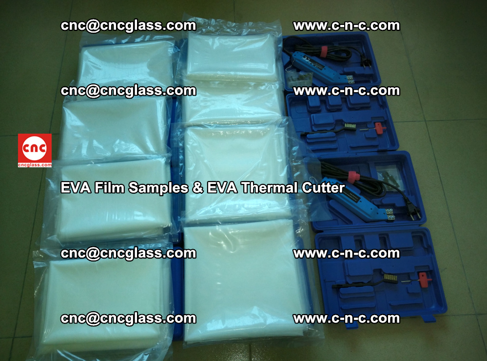 EVA Thermal Cutter and EVAFORCE SUPER PLUS EVA FILM samples (5)