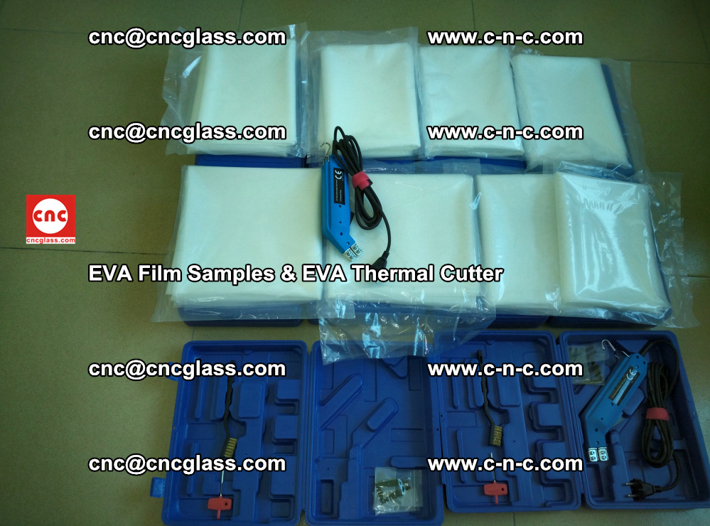 EVA Thermal Cutter and EVAFORCE SUPER PLUS EVA FILM samples (50)