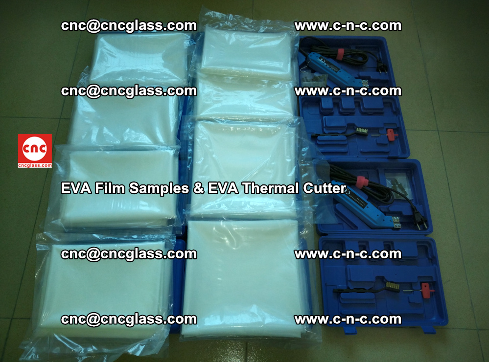EVA Thermal Cutter and EVAFORCE SUPER PLUS EVA FILM samples (6)