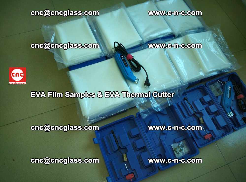 EVA Thermal Cutter and EVAFORCE SUPER PLUS EVA FILM samples (60)