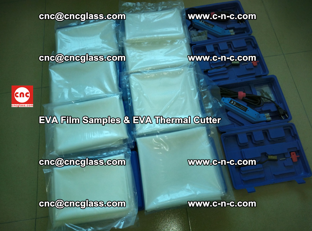 EVA Thermal Cutter and EVAFORCE SUPER PLUS EVA FILM samples (7)