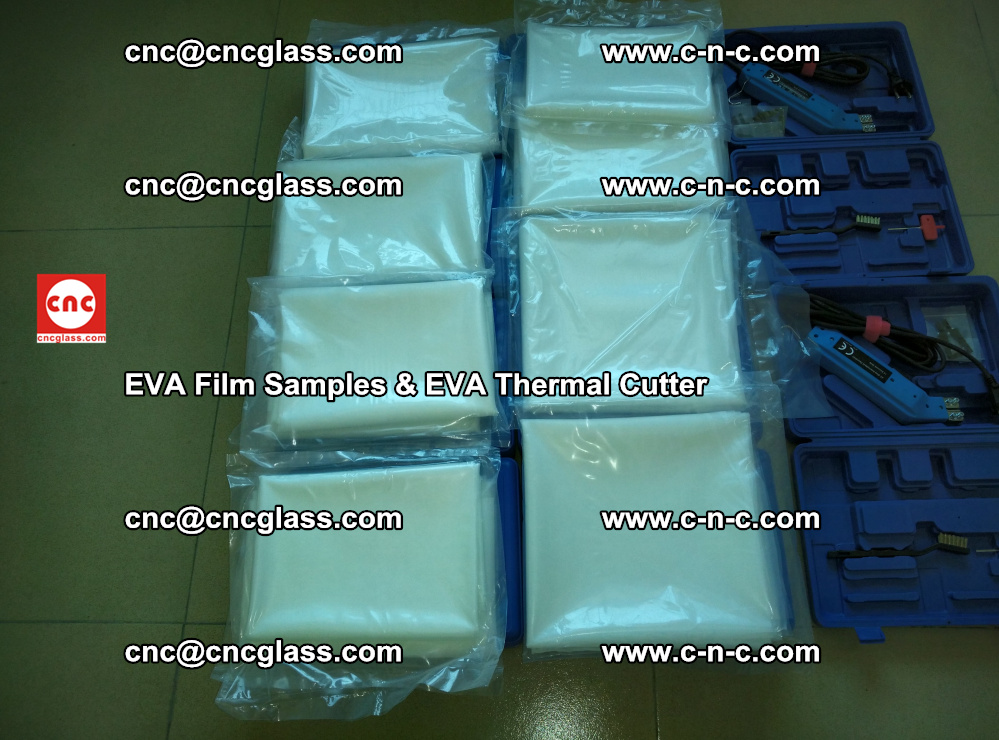 EVA Thermal Cutter and EVAFORCE SUPER PLUS EVA FILM samples (8)