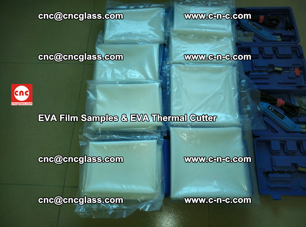 EVA Thermal Cutter and EVAFORCE SUPER PLUS EVA FILM samples (9)