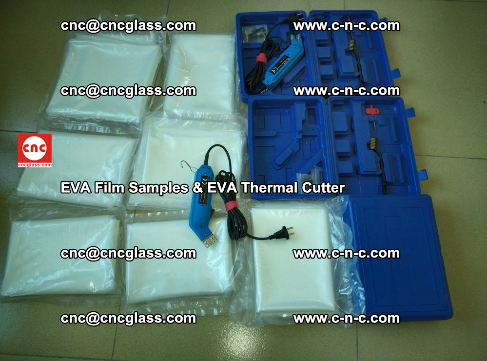 EVAFORCE SUPER CLEAR EVA Film Samples and EVA Thermal Cutter (21)