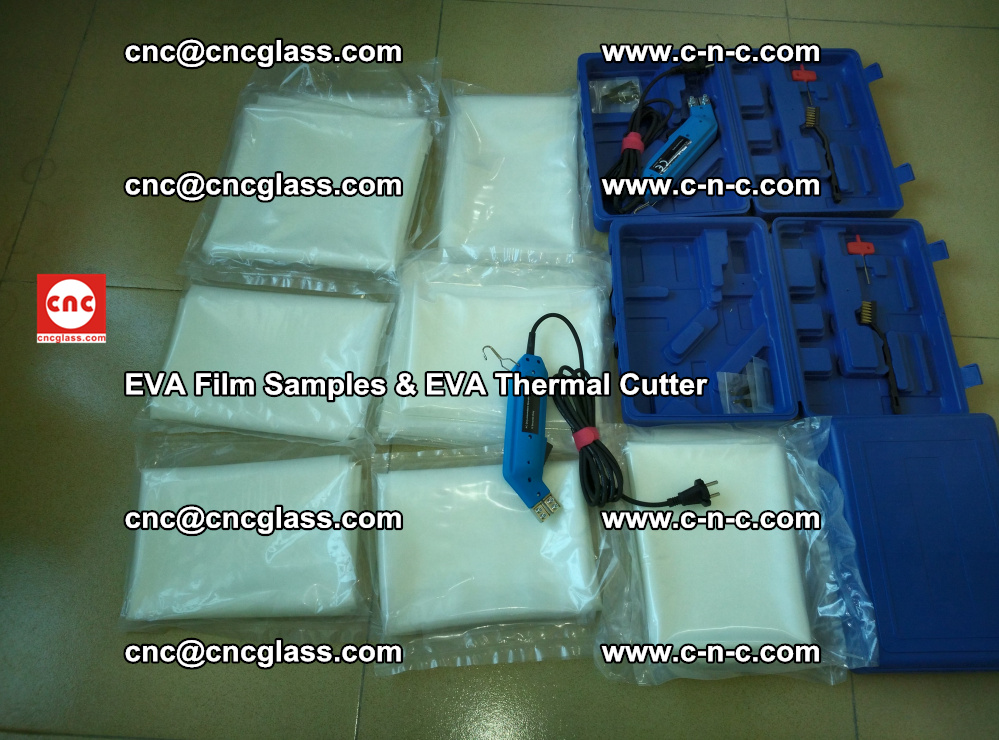 EVAFORCE SUPER CLEAR EVA Film Samples and EVA Thermal Cutter (26)
