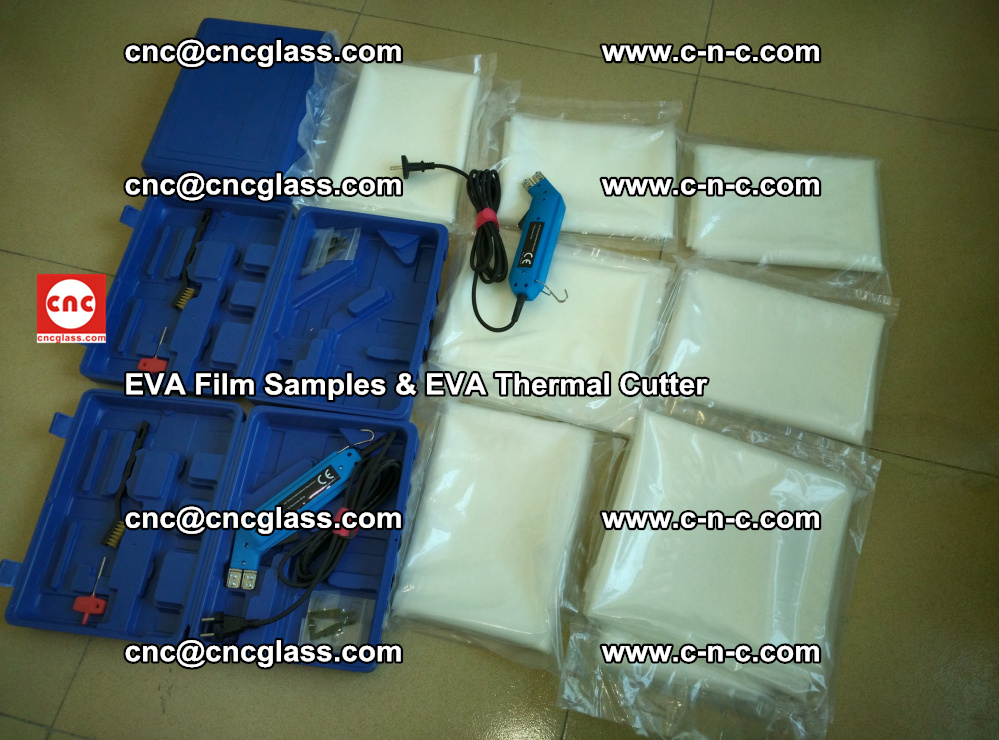 EVAFORCE SUPER CLEAR EVA Film Samples and EVA Thermal Cutter (27)