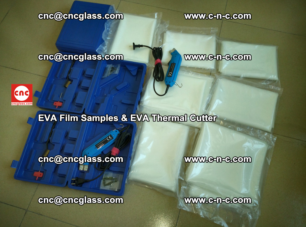 EVAFORCE SUPER CLEAR EVA Film Samples and EVA Thermal Cutter (28)