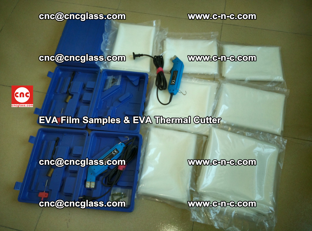 EVAFORCE SUPER CLEAR EVA Film Samples and EVA Thermal Cutter (30)