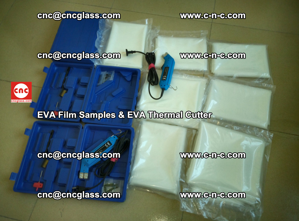 EVAFORCE SUPER CLEAR EVA Film Samples and EVA Thermal Cutter (31)