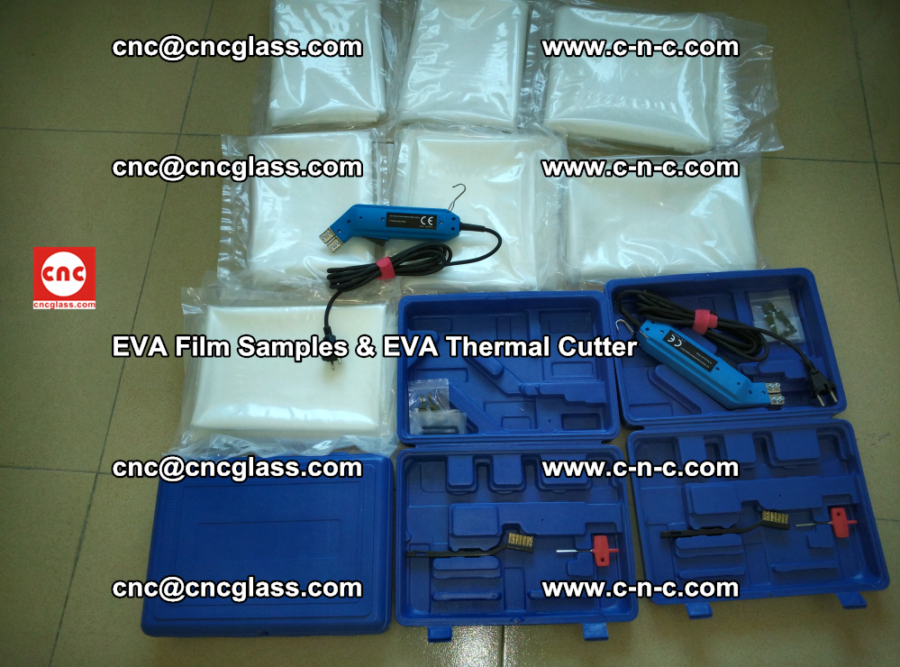 EVAFORCE SUPER CLEAR EVA Film Samples and EVA Thermal Cutter (33)
