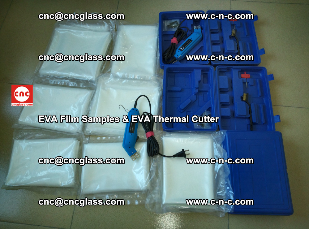 EVAFORCE SUPER CLEAR EVA Film Samples and EVA Thermal Cutter (36)