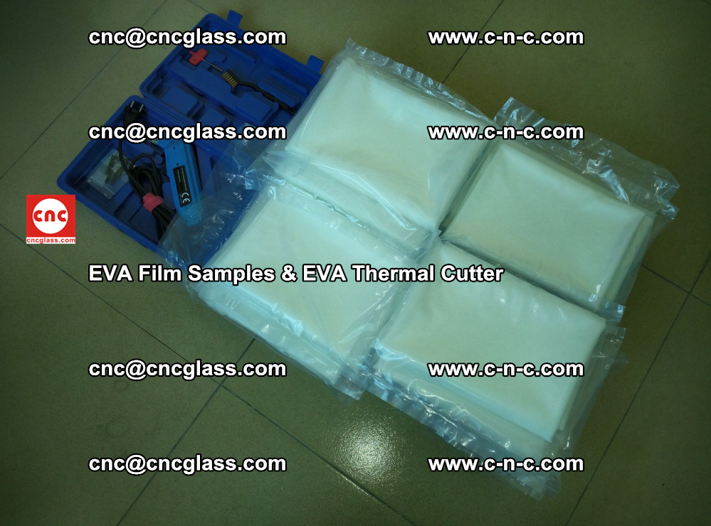 EVAFORCE SUPER CLEAR EVA Film Samples and EVA Thermal Cutter (48)