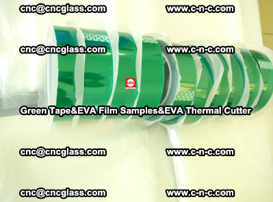 Green Tape, EVA Thermal Cutter, EVAFORCE SPUPER PLUS EVA FILM (80)