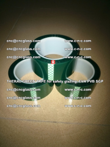 Thermal Green Tape, for safety glazing, EVA PVB SGP (15)