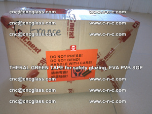 Thermal Green Tape, for safety glazing, EVA PVB SGP (28)