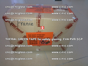 Thermal Green Tape, for safety glazing, EVA PVB SGP (30)