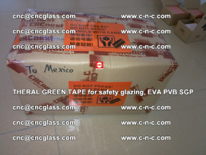 Thermal Green Tape, for safety glazing, EVA PVB SGP (31)