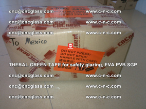 Thermal Green Tape, for safety glazing, EVA PVB SGP (33)