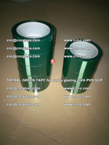 Thermal Green Tape, for safety glazing, EVA PVB SGP (37)