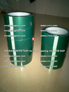 Thermal Green Tape, for safety glazing, EVA PVB SGP (38)