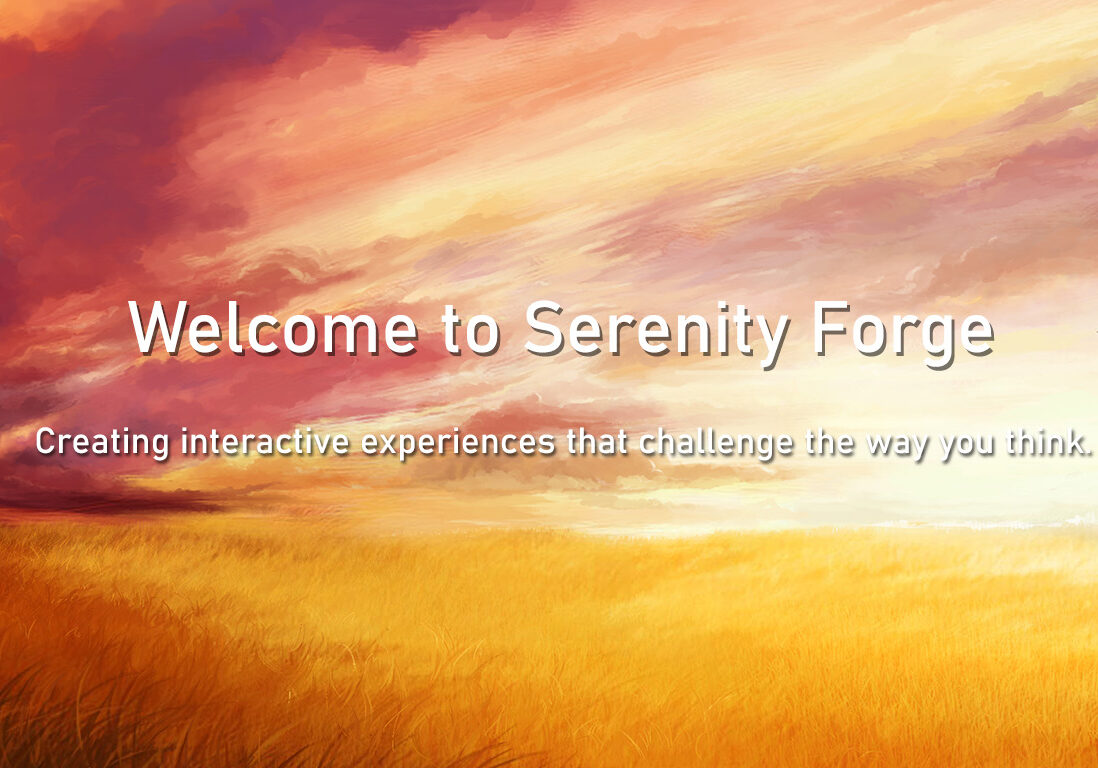 Serenity Forge Banner