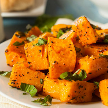 Butternut Squash on a Plate
