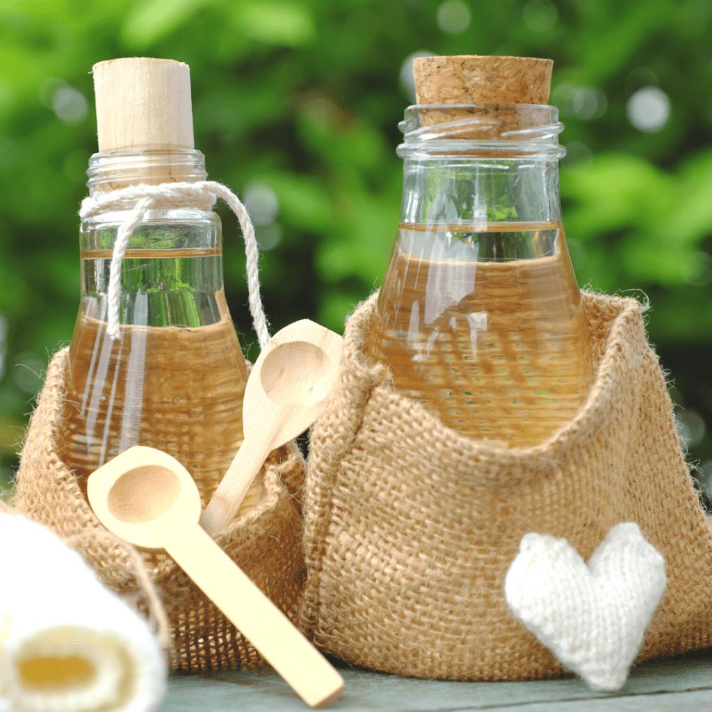 Coconut Oil in a Jar