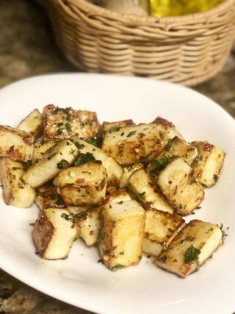 Spicy Honey Garlic Tofu