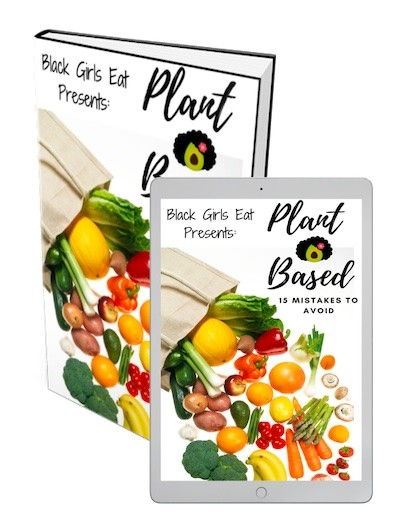 Ebook Cover - Plant Based 15 Mistakes to Avoid