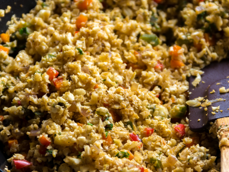 How To Turn Cauliflower Rice Into An Awesome Side