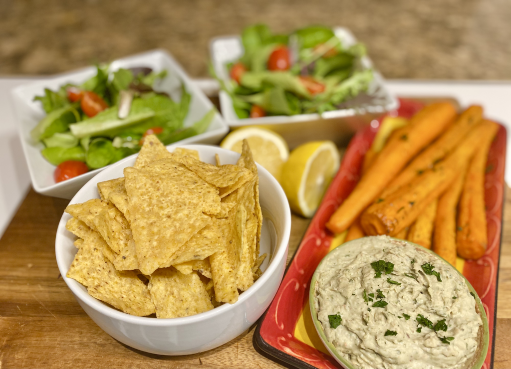 Plant Based Memorial Day Snack Tray