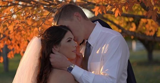 Happy ONE year anniversary to Sara + Randy!