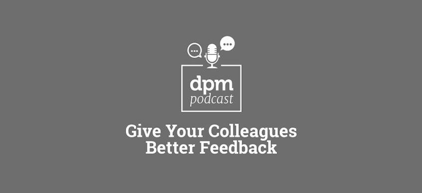 dpm podcast logo and title